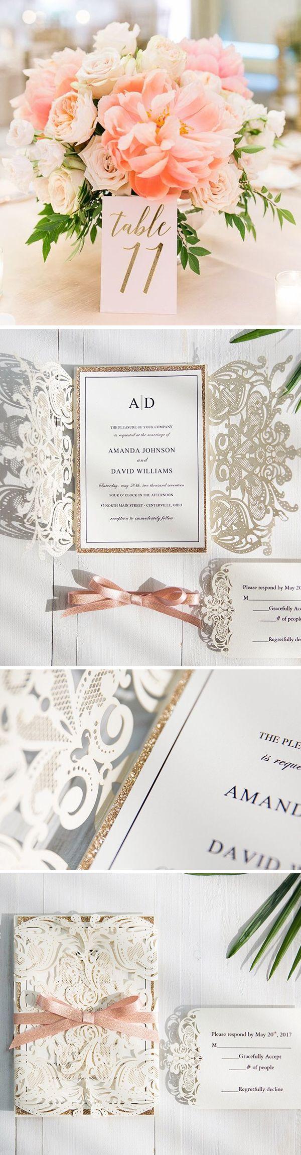 168 best Wedding card images on Pinterest | Invitations, Invitation ...