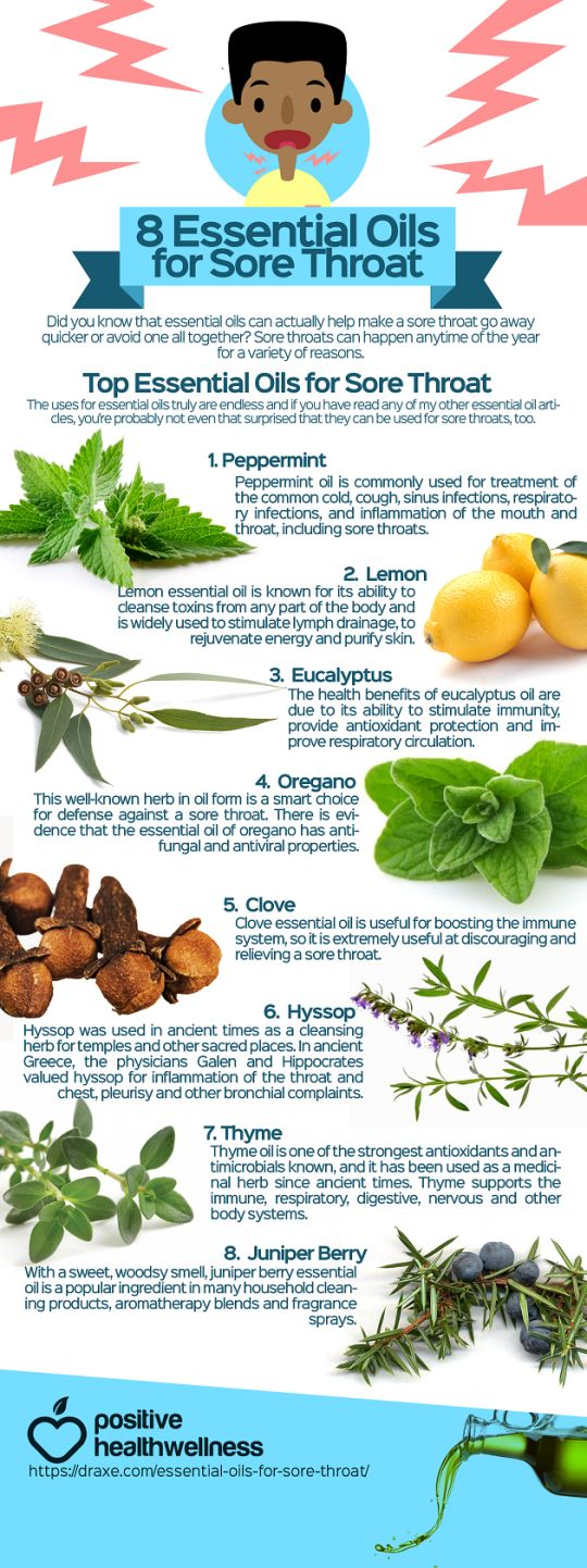 8 Essential Oils For Sore Throat                                                                                                                                                                                 More