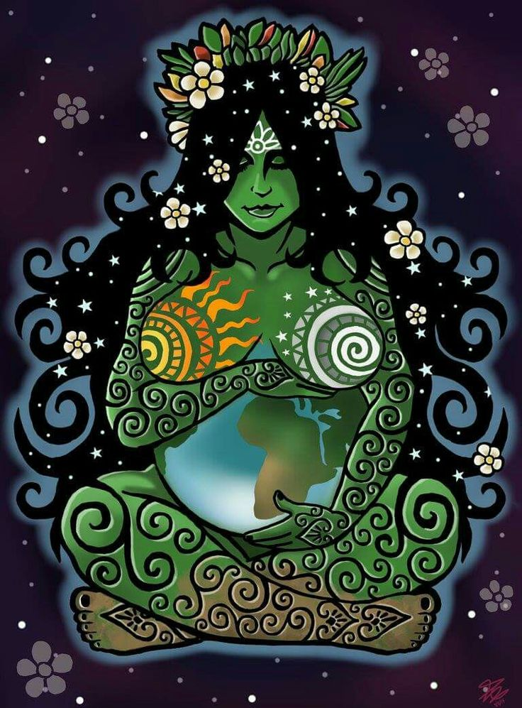 Earth:  #Earth Mother.