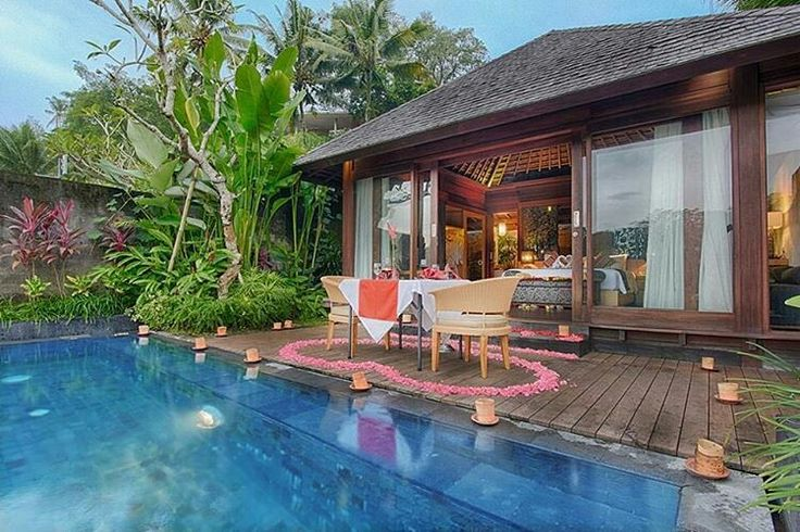 It's valentine day! Special romantic decoration at one bedroom private pool villa in Ubud. www.geriabalivillas.com #balivilla #ubudvilla #valentineday #valentines #romantic #special #love #valday #honeymoon #beautifuldestination #relationshipgoals #tropical #valentine #surprise #bdvalentines #luxurypersian #luxurybaliresort #luxurybalivillas #travelblogger #travelphotography #infinitypool #ubudlife