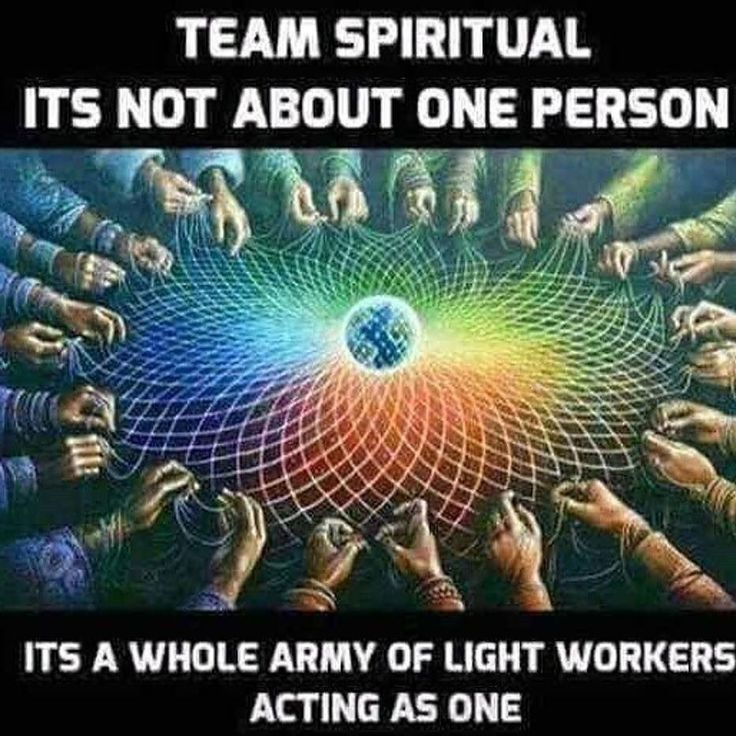 When I saw this posted from my lovely spiritual friend Grace Akashic I got chills. This is a Light Network. It's so important to release judgment and realize we're not competing against eachother. We'll helping spread our light together. Be the Light...