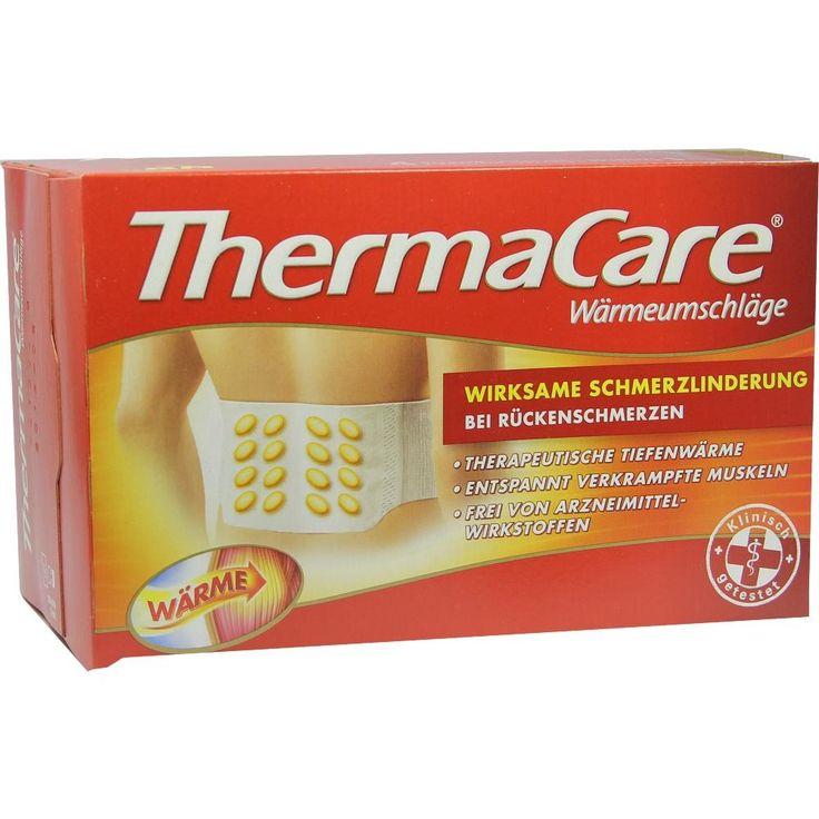 THERMACARE Rückenumschlaege S-XL z.Schmerzlind:   Packungsinhalt: 4 St PZN: 00707366 Hersteller: Pfizer Consumer Healthcare GmbH Preis:…