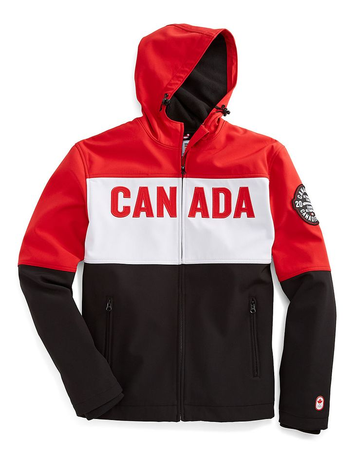 Sochi 2014 Canadian Olympic Team Collection Men's Softshell Jacket