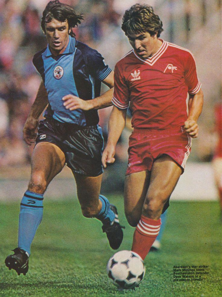 Mark McGhee Aberdeen 1981