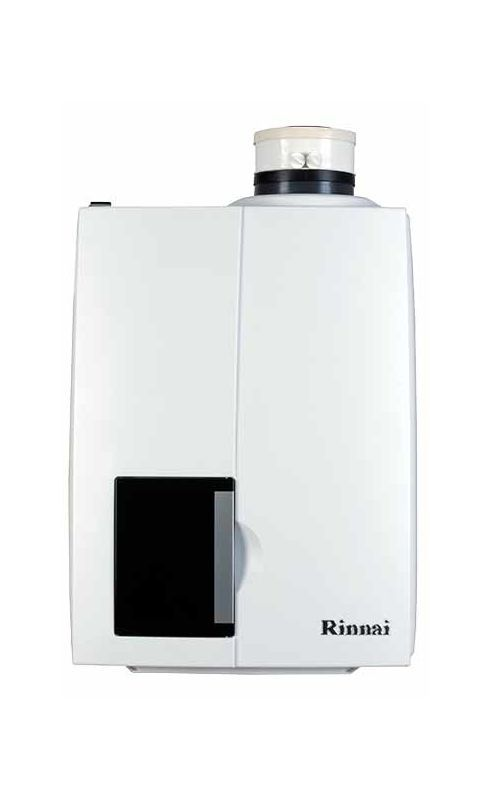 Rinnai E75C 75000 BTU Tankless Condensing Gas Boiler with 2.1 Gallons Per Minute Natural Gas Tankless Water Heaters Whole House Gas/Propane