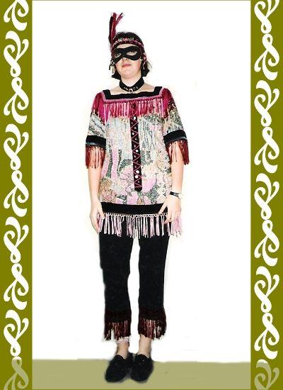 kostým indiánka, maškarní kostýmy