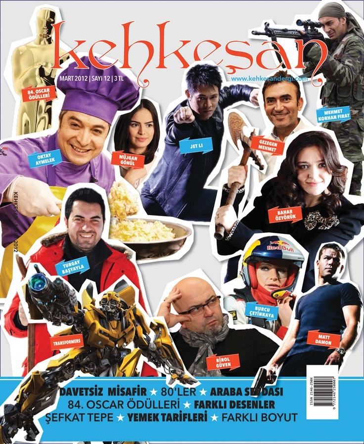 Kehkeşan Cover Design  Kehkeşan Dergisi kapak tasarımı