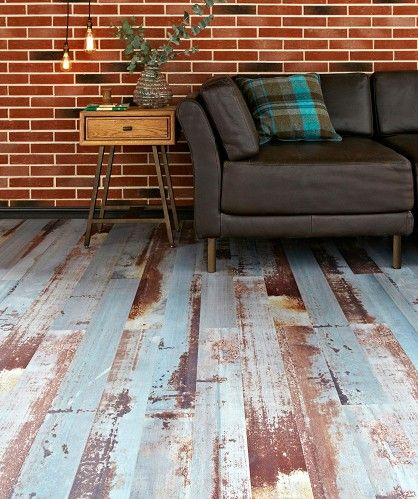 Old Millhouse Brick Slip Wood Laminate Flooring Topps