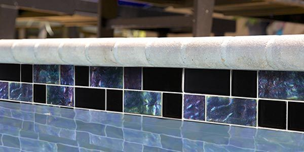 mosaics twilight series 1x1 glass tile