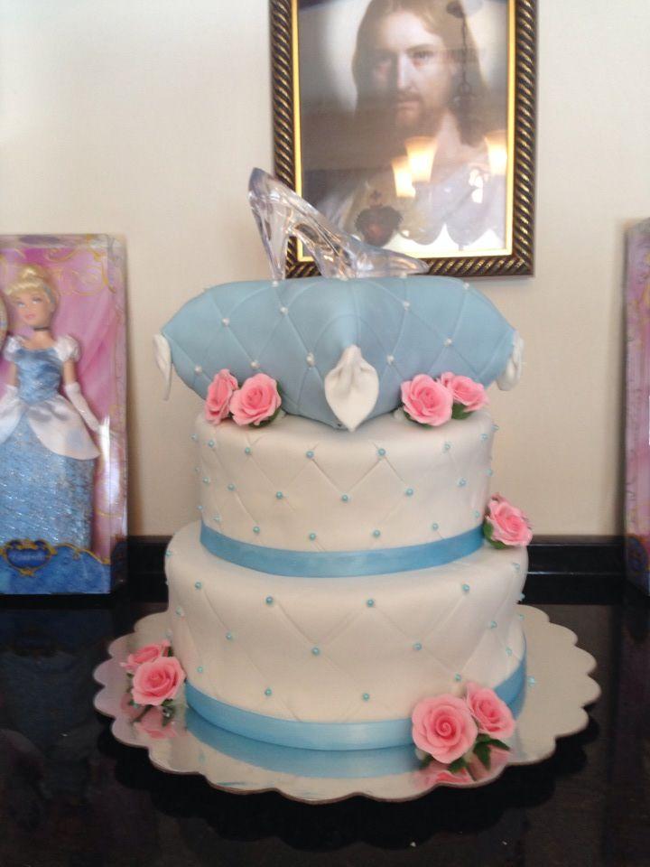 Cinderella Baby Shower Cake