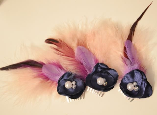 Wedding fascinator for the bride, bridesmaid and mother of the bride