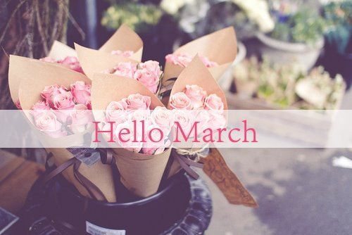 Hello march my favourite month and the most for Flowers for aries woman