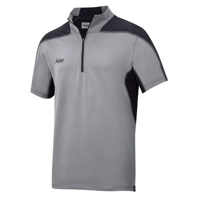 This very stylish Snickers 2716 Body Mapping Polo Shirt, combines pioneering moisture transport technology with quick-drying, high-stretch and UV-protective fabric offering you superior dry working comfort. This shirt will keep you looking and feeling fresh, either out on site or out night clubbing!