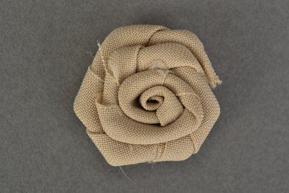 Tessuto rose crema rosa capelli accessori carta di KseniyaRevta