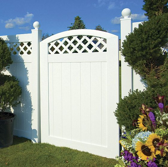 11 best PVC Fence images on Pinterest | Fence ideas, Fences and Diy ...