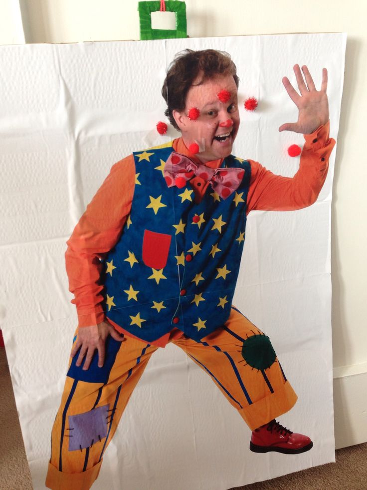 Pin the nose on Mr Tumble