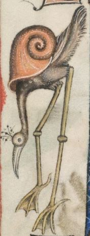 Detail from The Luttrell Psalter, British Library Add MS 42130 (medieval manuscript,1325-1340), f171v