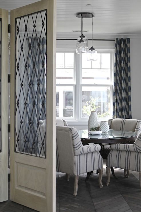 Curtains For Dining Room White And Maroon Dining Room Glass Jar Pendants Chevron Curtains
