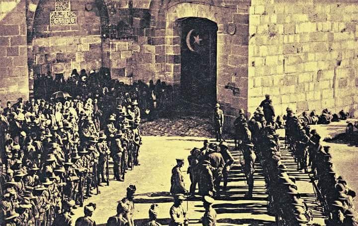 Ortadoğu'da huzurun bitip kaosun başladığı tarihi an, Kudüs İngilizlere teslim ediliyor..