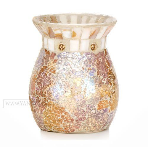 Yankee Candle Gold and Pearl Tart Burner Yankee Candle