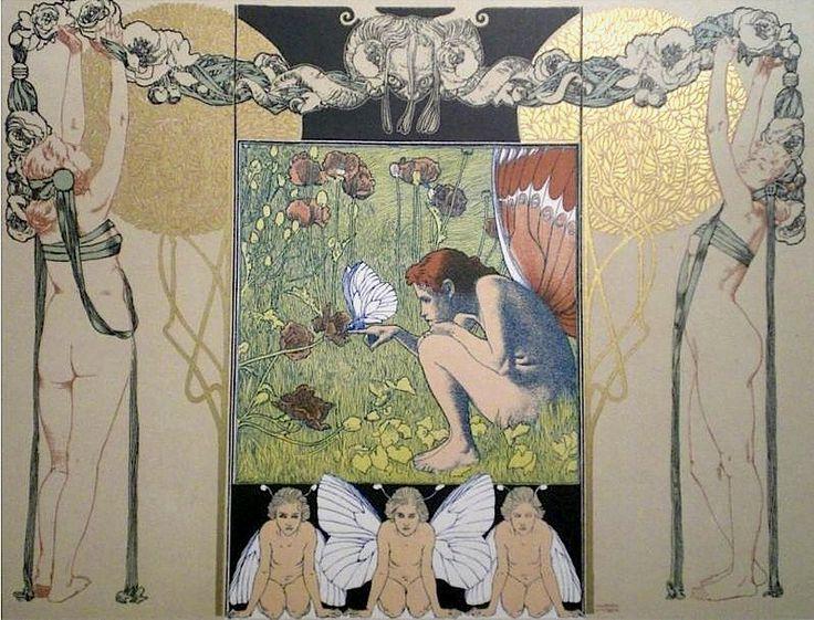 Artist: Koloman Moser  1890s  Style: Art Nouveau (Modern)