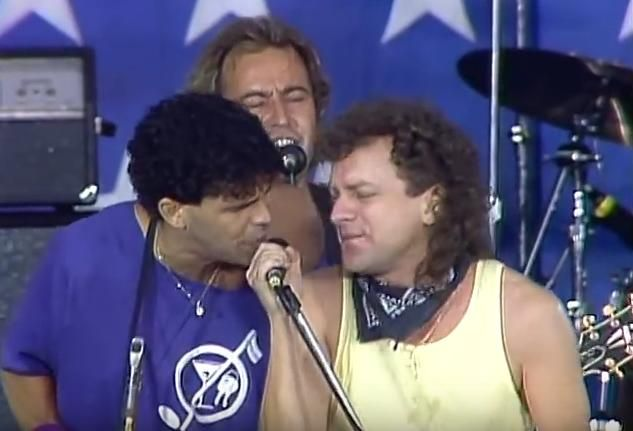 Lou Gramm and Mark Rivera, Foreigner band