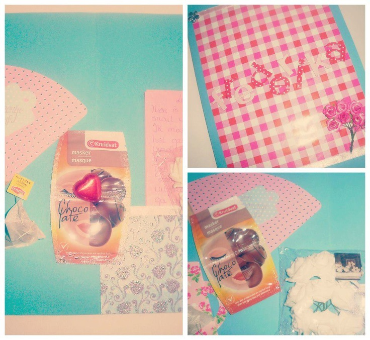 Received SnailMail from Linda! <3