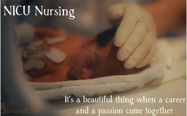 NICU nursing... It's a beautiful thing indeed.