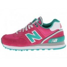 New Balance Stadium 574 Noir Et Rose