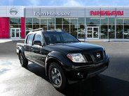 """2011 Nissan Frontier PRO-4X. """"When you've got stuff that needs to get done, Frontier is up to the task but practicality and smart design don't come at the expense of comfort. The Crew Cab offers spacious seating for five, and the King Cab's doors open wide, making it easy to get in and out of the cabin."""" -Nissan tomhessernissan.com"""