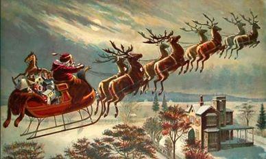 L' Albero di Natale: Lo sapevate che le renne che trascinano la slitta ...