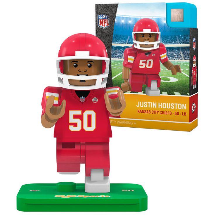Justin Houston Kansas City Chiefs OYO Sports Generation 5 Player Minifigure