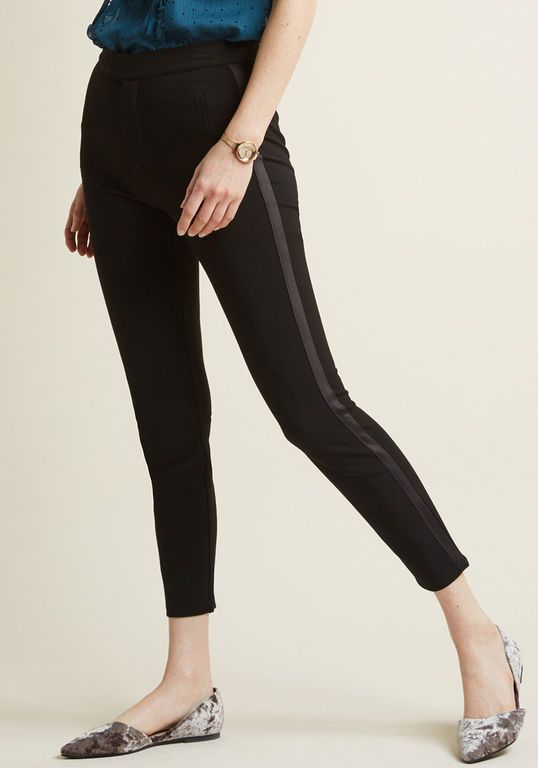 f93f0a76688 ... plus size outfits! Ponte Pants with Tuxedo Stripe in 2X