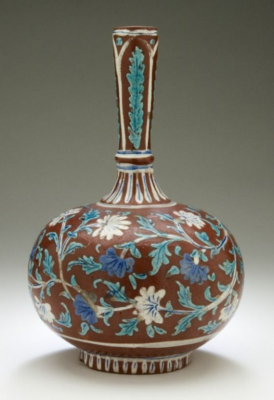 Glazed Ceramic Water Vessel - India, Maharashtra, Mumbai (Bombay), circa 1890