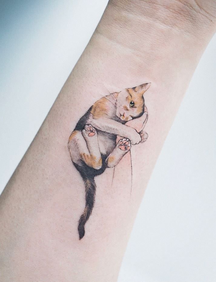 60 Best Small Tattoos Of All Time With Images Cute Cat Tattoo Cat Tattoo Designs Cool Small Tattoos