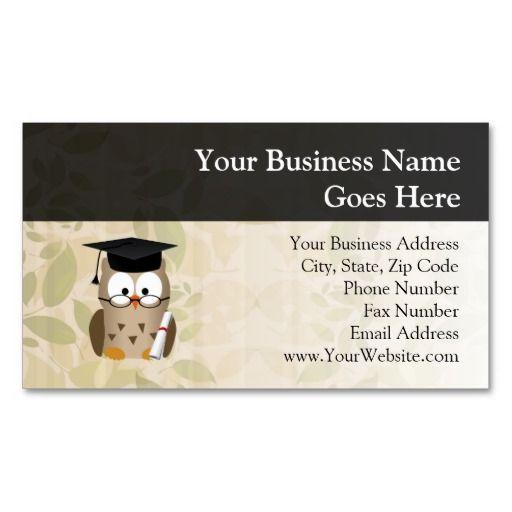 332 best images about teacher business card templates on for Teacher business card template free
