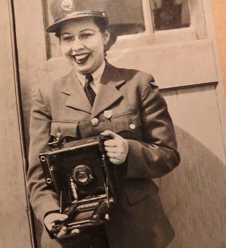 Lou Marr: RCAF Camerawoman : Blog: Wartime Wednesdays   Elinor Florence