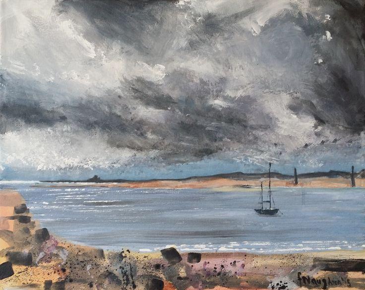 Stormy Sky (Northumberland Coast)