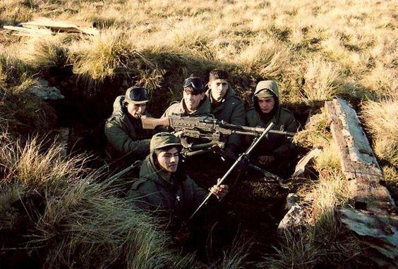 ARGENTINE MACHINE GUN CREW