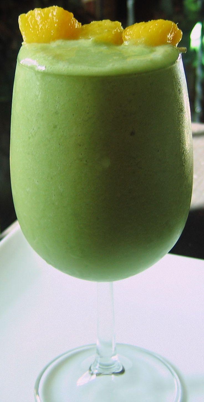 Green Tea Tropical Smoothie
