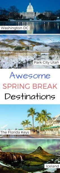 7 Awesome Spring Break Destinations | Next Vacation Inspiration | #bestintravel #wherenext #awesomeplaces #springbreak #travel #vacation #topdestinations