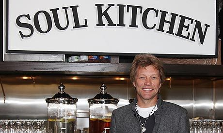 Another reason Jon ROCKS!  Soul Kitchen serves meals to customers who have earned them through volunteer hours. The Soul Kitchen operates as a program of the Jon Bon Jovi Soul Foundation and is sustained by cash payment from customers who are able to pay the suggested donation (or even a little more).
