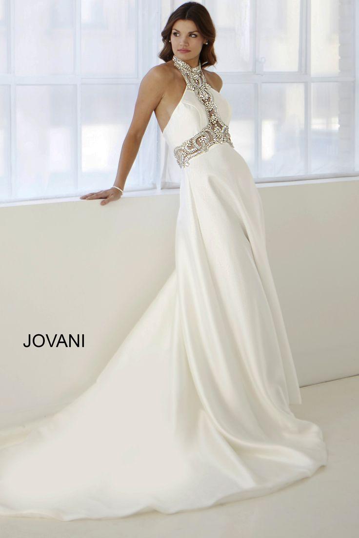 Jovani mermaid wedding dresses : On satin lace wedding gowns and mermaid dresses