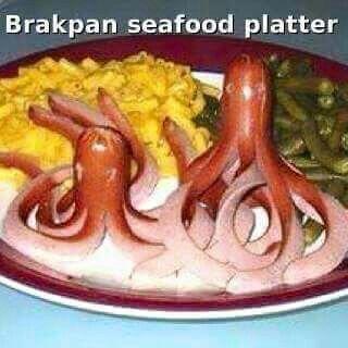 #brakpan #seafood #platter #funny #jokes #afrikaans #brakpan #snaaks #grappe #grap