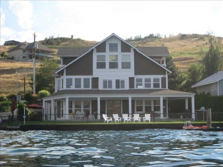 Lake Chelan House Rental: Lake Front Home On South Shore Of Lake Chelan W/dock Sleeps 10 | HomeAway