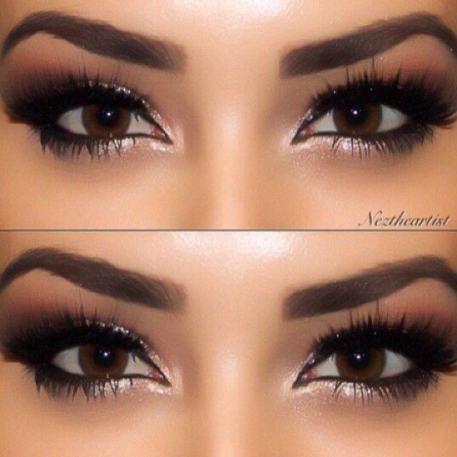 brown eyes no makeup makeup look - Google Search