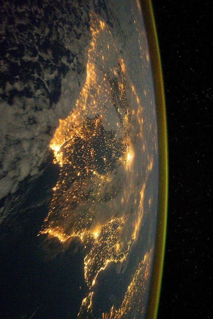Barcelona, Spain by (NASA)