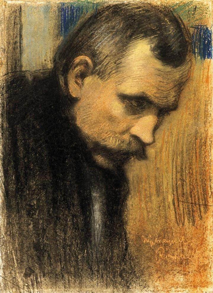 Rippl-Rónai, József (1861-1927) chalk pastels