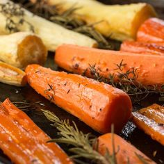 ... | Roasted carrots, Honey roasted carrots and Carrot and parsnip soup