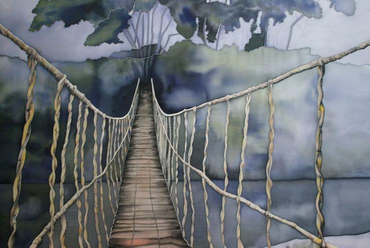 постер подвесной канатный мост хофф думаете, что